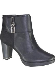 Bota Feminina Piccadilly Maxitherapy Ankle Boot