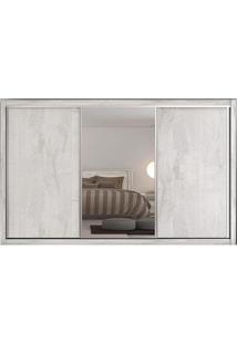 Guarda-Roupa Toronto - 3 Portas - Com Espelho - 100% Mdf - Ártico