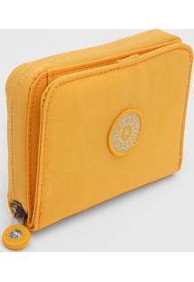 Carteira Kipling Logo Amarela - Kanui