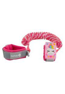Pulseira De Segurança Watch Safety 1St - Rosa