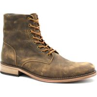 ea3f601c15 Bota Zariff Shoes Coturno Em Couro Masculina - Masculino-Marrom