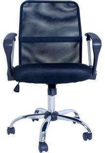 Cadeira Facthus Premir Office Giratória Preto