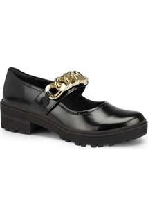Sapato Boneca Feminino Dakota Corrente Preto