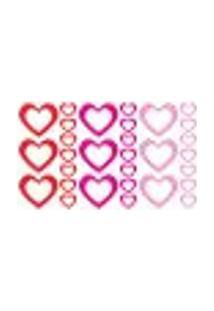 Adesivo De Parede - Corações, Coração - 005Rm-P