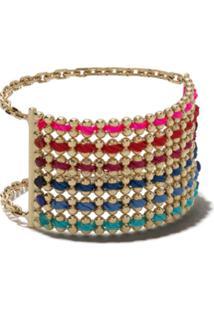 Redline 14Kt Yellow Gold Aurore Chain Thread Ring