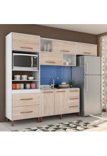 Cozinha Completa Canela 8 Pt 5 Gv Branco E Teka