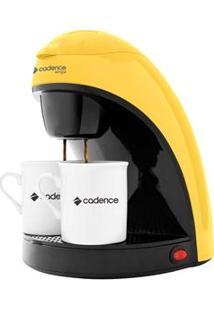 Cafeteira Single Colors Cadence Caf114 Prepara 2 Cafés, Com Filtro Permanente E Removível 450W - Amarela