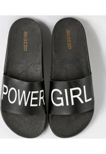 Chinelo Feminino Slide Power Girl Akazzo 1710R