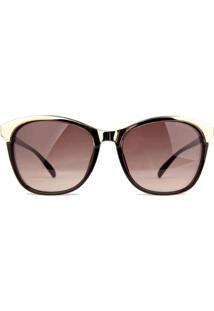 Óculos De Sol Bulget Feminino - Feminino-Preto