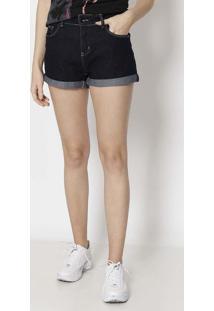 Short Jeans Com Bolsos - Azul Escurocalvin Klein