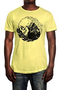 Camiseta Hshop Equilibrium Amarelo Bebê