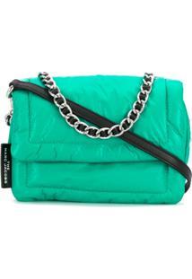 Marc Jacobs Mini Pillow Shoulder Bag - Verde