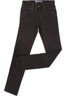 Calça Jeans Rodeo Western Marrom
