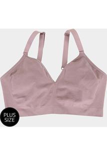Sutiã Lupo Plus Size Sem Costura - Feminino