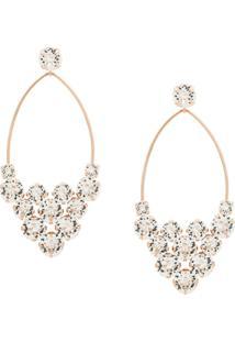 Isabel Marant Embellished Hoop Earrings - Dourado