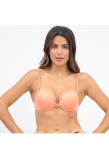 Soutien Push Up Liso- Coral- Hopehope