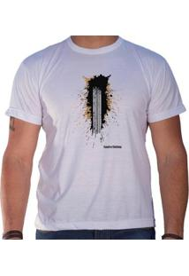 Camiseta Sandro & Co. Trakin Masculina - Masculino-Branco