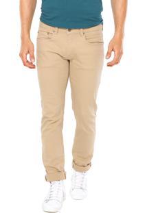 Calça Jeans Calvin Klein Jeans Skinny Lisa Bege