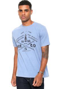 Camiseta Hering Estampada Azul