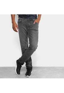 Calça Jeans Slim Forum Estonada Paul Masculino - Masculino-Preto