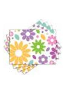 Jogo Americano - Flores Com 4 Peças - 522Jo