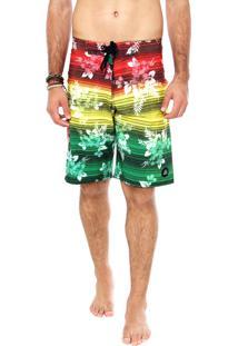 Bermuda Água Reef Tropicali Multicolorida