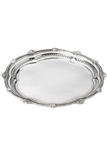 Bandeja Silver Rosato 22,5X2 - Unissex