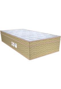 Colchão Solteiro Molas Ensacada Style Pure Silk (36X88X188) Palha E Mel
