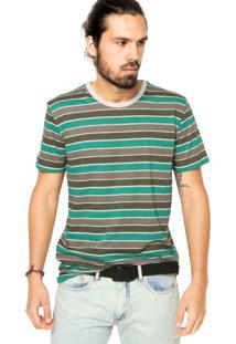 Camiseta Sommer Listras Verde