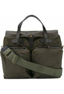 Filson Patch Pocket Laptop Bag - Verde