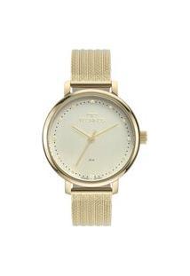 Relógio Technos Feminino Analógico Dourado 2035Msu1K