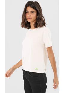 Camiseta Oh, Boy! Basic Off-White