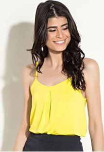 Kit De Blusas Quintess Branca E Amarela