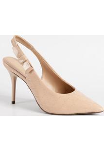 Scarpin Feminino Chanel Verniz Textura Via Uno 3705001Sbavv