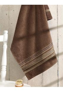 Toalha De Banho Jacquard Premium Fj5107- Marrom