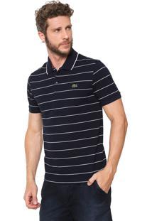 31609bf96d34f Camisa Pólo Azul Marinho Lacoste masculina   Moda Sem Censura