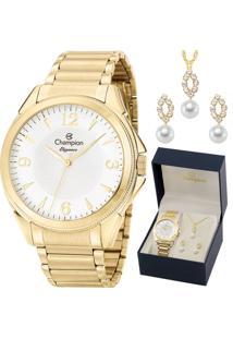 6665c33137d E Clock. Relógio Tamanho Grande Kit Dobrável Analógico Com Colar Feminino Magnum  Champion ...