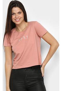 Camiseta Roxy Baschique Feminina - Feminino