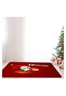 Tapete De Natal Para Sala Papai Noel Ho Ho Ho Único