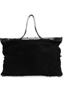 Saint Laurent Bolsa Tote Oversized - Preto