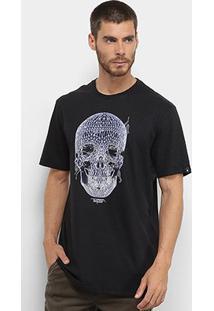 Camiseta Mcd Regular Skull Circuit Masculina - Masculino