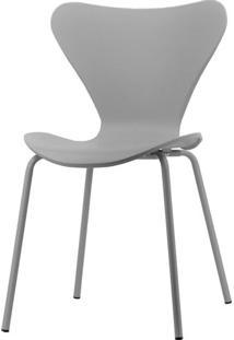 Cadeira Barcelona Polipropileno Cinza Com Base Aco - 61215 - Sun House