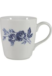 Caneca Porcelana Schmidt 225 Ml - Dec. Cora