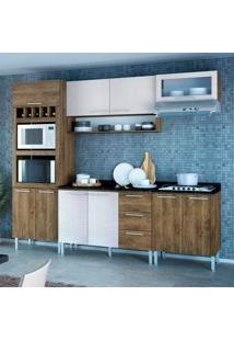 Cozinha Stella 0420T 10 Portas C/ Tampo – Genialflex - Demolição / Gelo