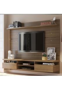 Painel Para Tv Até 65 Polegadas Madesa Moscou 220 Cm 2 Portas
