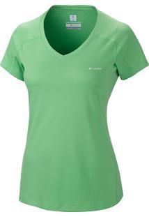 Camiseta Zero Rules Mc Fem Al6914 - Columbia