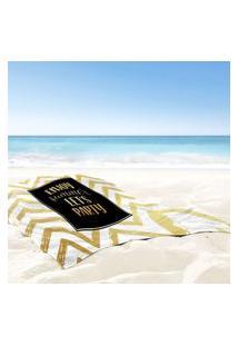 Toalha De Praia / Banho Enjoy Summer Único