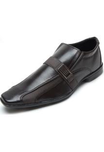 Sapato Fiveblu Pequim Marrom