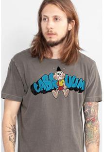 Camiseta Bandup! Premium Cabrumm Cascão Masculina - Masculino