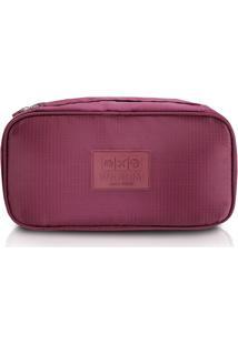 Bolsa Porta Lingerie Vinho - Jacki Design